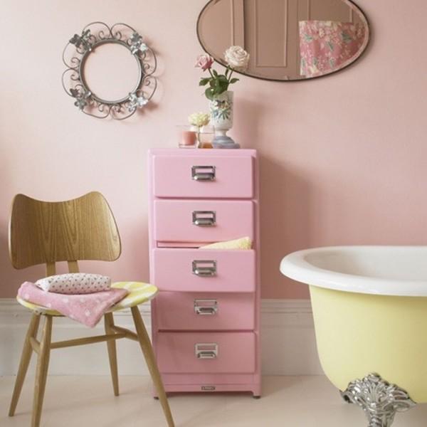 صور - صور ديكور حمامات بالوان الباستيل الناعمة