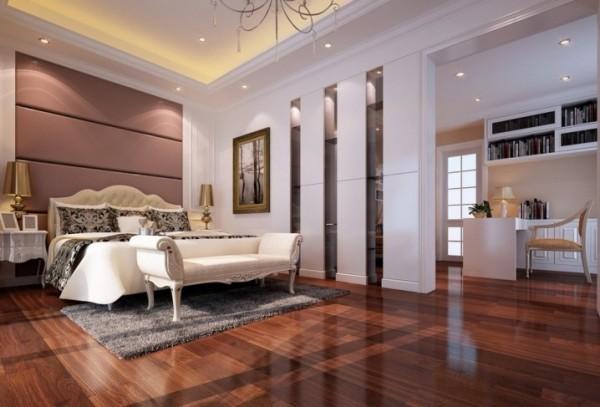 اجمل ارضيات غرف النوم الخشبية   ماجيك بوكس
