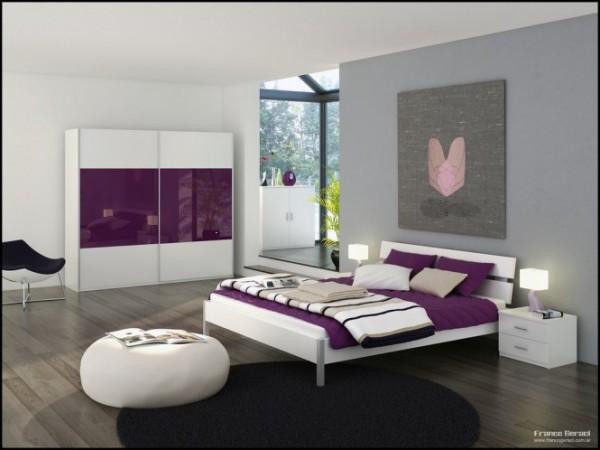 صور - اجمل ارضيات غرف النوم الخشبية