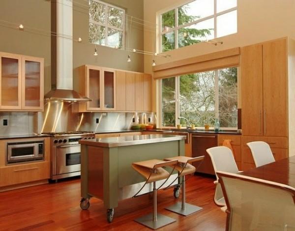 صور - بالصور تصاميم ذكية من طاولات المطبخ