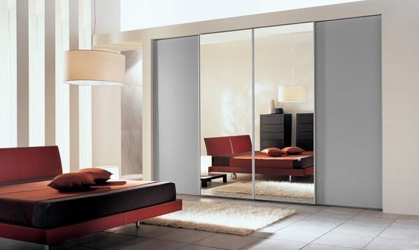 اجمل تصاميم دواليب غرف النوم بالمرايا   ماجيك بوكس