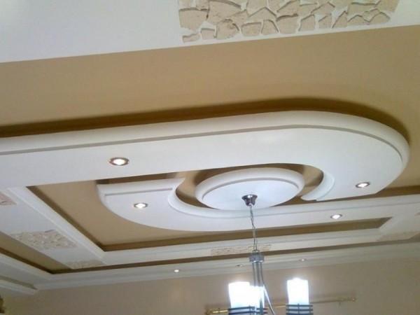 صور - احدث تصاميم الديكورات الجبسية للاسقف والجدران