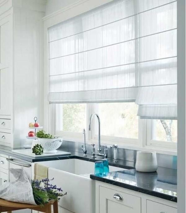 صور - اجمل تصاميم ستائر المطبخ بالوان مختلفة