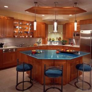12 تصميم مبهر من طاولات المطبخ المودرن