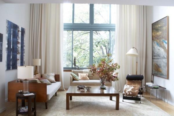 صور - كيفية زيادة المقاعد فى غرف المعيشة الصغيرة ؟