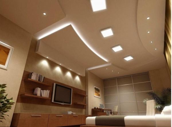 صور - جددى منزلك واختارة احدى تصاميم اسقف غرف الجلوس