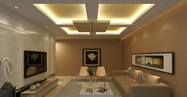 جددى منزلك واختارة احدى تصاميم اسقف غرف الجلوس
