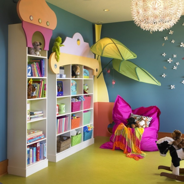 صور - ساهمى فى متعة اطفالك واصنعى ديكورات غرف الاطفال المليئة بالالعاب