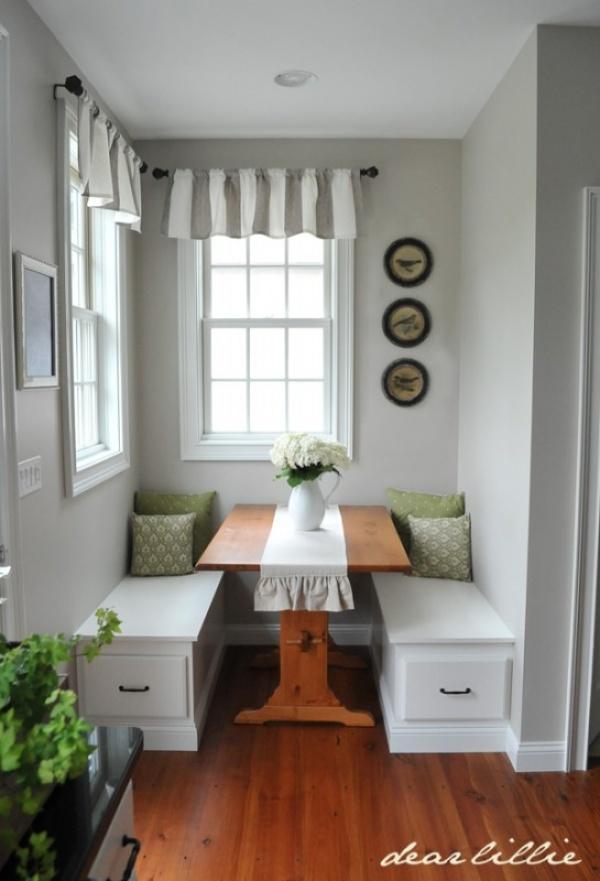 صور - كيف تختارين اثاث غرف الطعام الصغيرة ؟