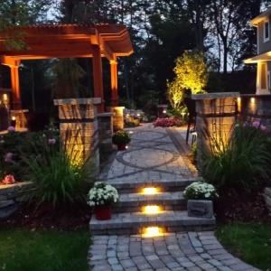 احدث افكار انارة الحدائق المنزلية بالصور