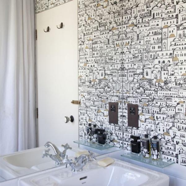 المرايا من الافكار لتزيين الحمام