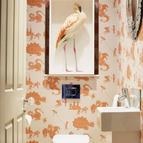 الديكورات الغريبة من الافكار لتزيين الحمام