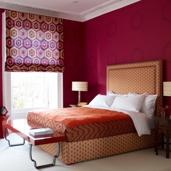 غرف النوم الكلاسيك بالاشكال الهندسية