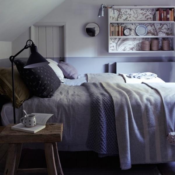 غرف النوم الكلاسيك الريفية