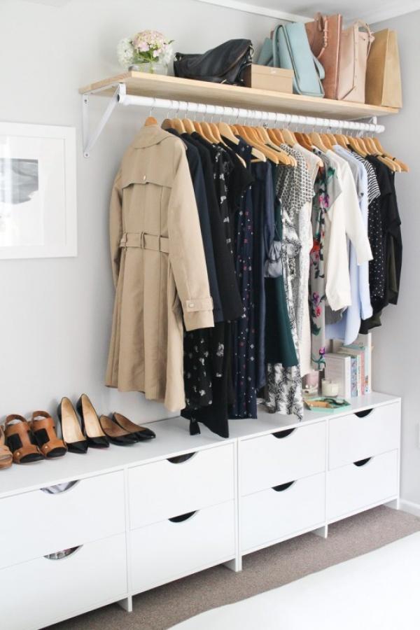 طرق تخزين الملابس الذكية