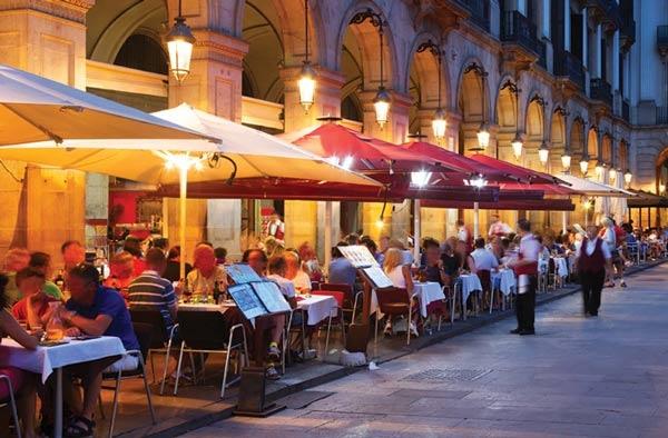 المطاعم في اسبانيا