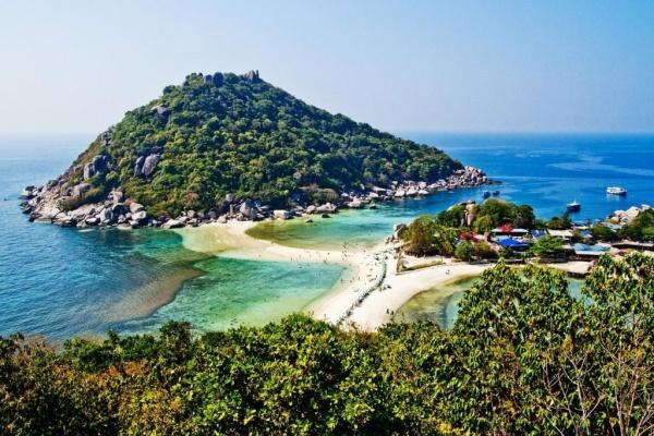 جزيرة كو تاو من اشهر جزر تايلاند السياحية