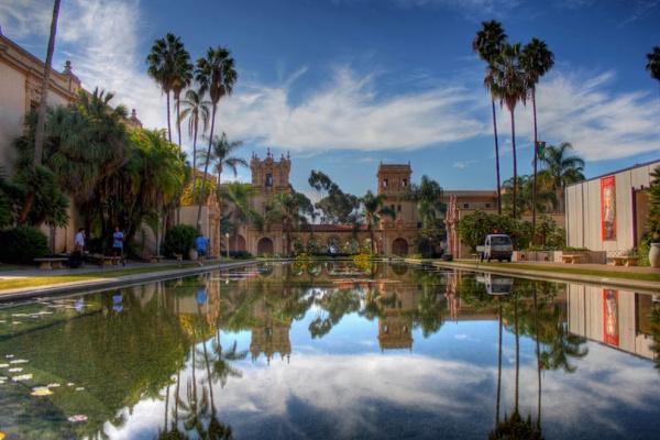 حديقة بالبوا من اجمل حدائق العالم