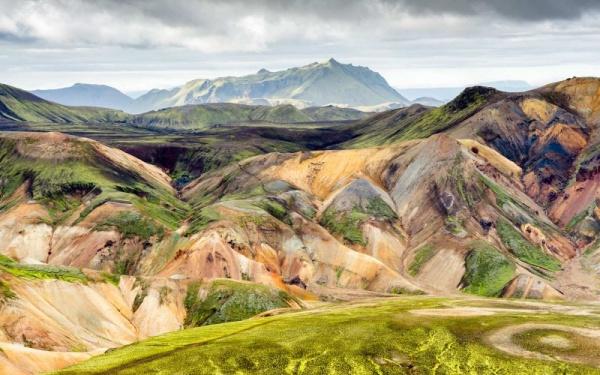 معلومات عن تضاريس ايسلندا
