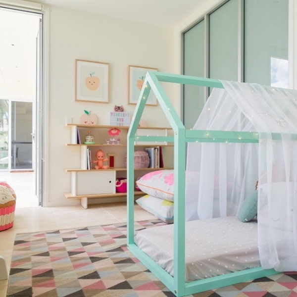 اضافة الخطوط الهندسية لتصاميم غرف اطفال 2018