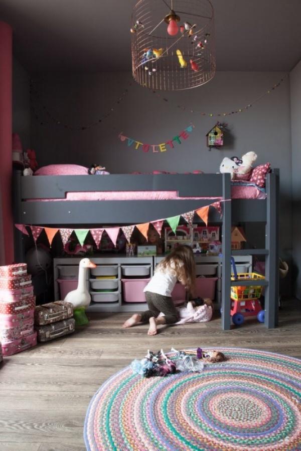 توفير مساحة من الفضاء فى تصاميم غرف اطفال 2018
