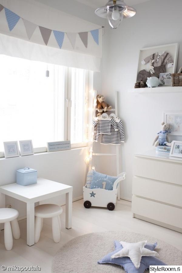 اللون الابيض الجميل في تصاميم غرف اطفال 2018