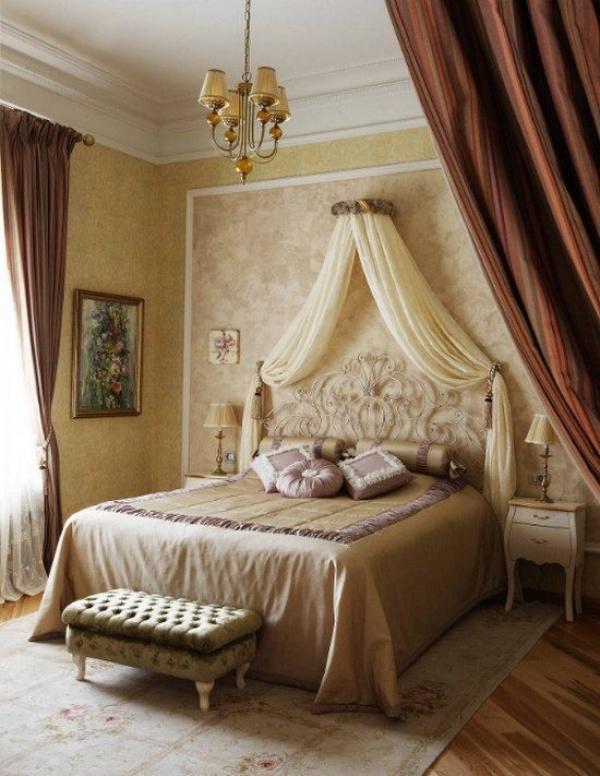 اشكال السرير المصمم من المعدن فى صور غرف نوم 2018
