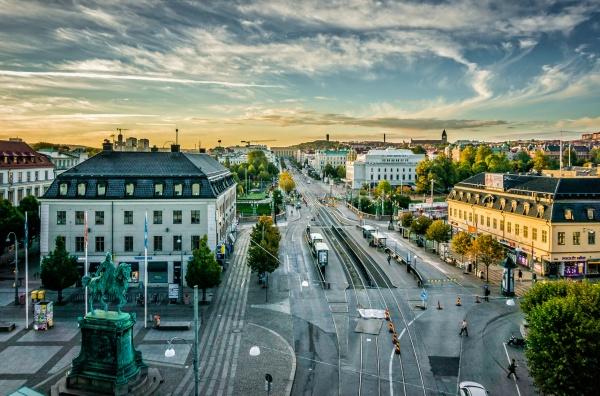 الشوارع في دولة السويد
