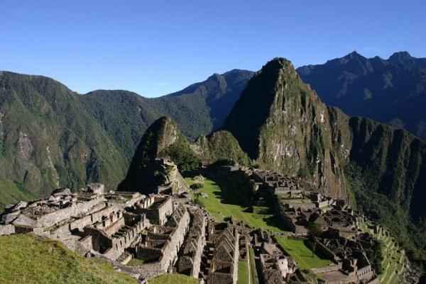 ماتشو بيتشو من اشهر مواقع التراث الثقافي العالمي