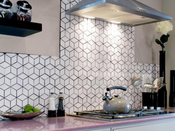 جدران المطابخ بتصميم يشبه خلية النحل