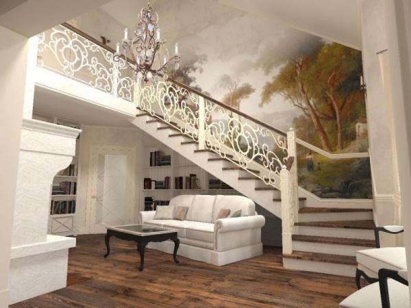 91109d4f5 أشكال ساحرة من تصاميم السلالم الداخلية للفلل بالصور - ماجيك بوكس